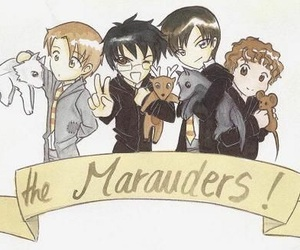 marauders and harry potter image