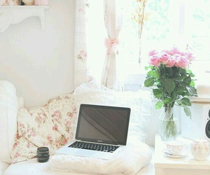 flowers, bedroom, and photography image