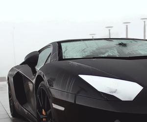 car, black, and Lamborghini image