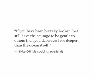 quotes, broken, and courage image