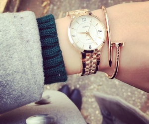 beauty, girl, and montre image