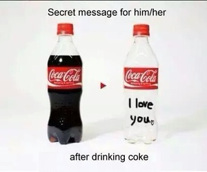 diy, coke, and message image