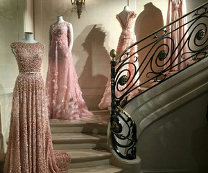 dress, pink, and elie saab image