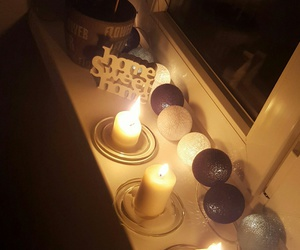 relax, candle, and home image