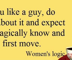 logic, quote, and women image