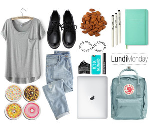casual, monday, and Polyvore image