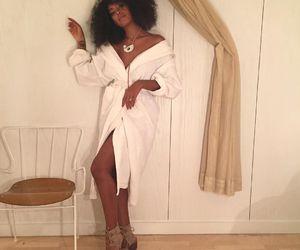 actress, black woman, and model image
