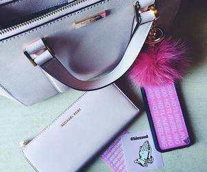 bags, purses, and Michael Kors image