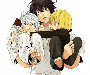 death note, L, and near image