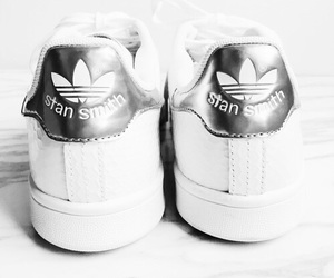 shoes, adidas, and stan smith image