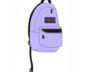 backpack, lavender, and purple image