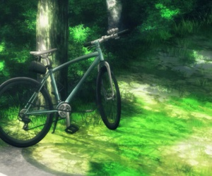 anime, sakurako-san, and bicicleta image