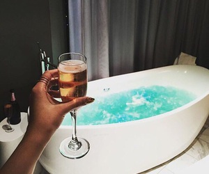 luxury and champagne image