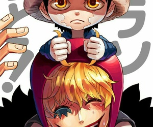 one piece, Law, and corazon image