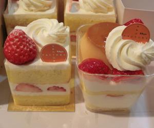 cake, cream, and pie image