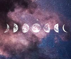 alternative, galaxy, and moon phases image