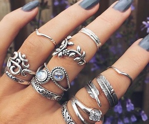 nails, rings, and accessories image