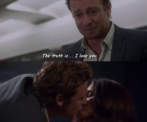 quote, the mentalist, and love image
