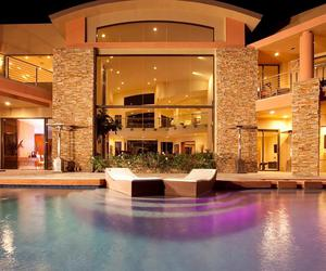 dream house, goals, and house image