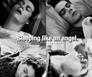 teen wolf, dylan o'brien, and angel image