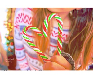 candy, candy cane, and filter image