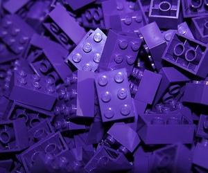 purple, lego, and tumblr image