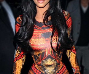 kim kardashian, kim, and dress image