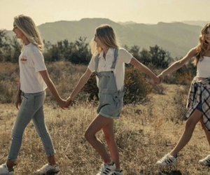 summer, friends, and brandy melville image