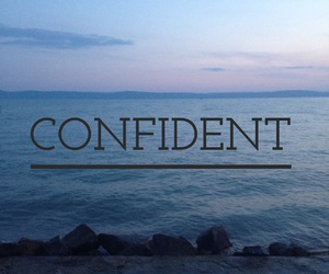 confident, easel, and quote image