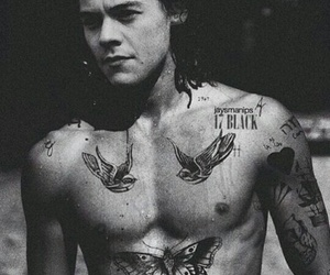 Harry Styles, tattoo, and harrystyles image
