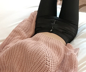 fashion, sweaters, and jeans image