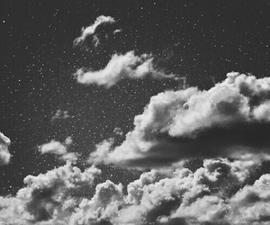 clouds, stars, and sky image