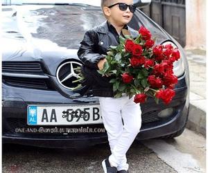 adorable, black, and boy image