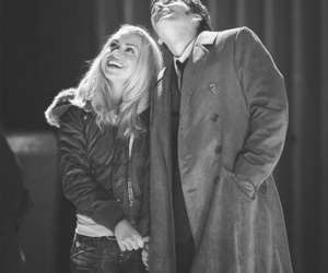 rose tyler, david tennant, and doctor who image