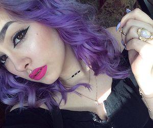 pastel hair, aesthetic, and kawaii image