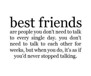 friend, quote, and friends image
