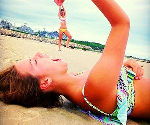 beach, goofy, and amigas  image