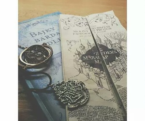 books, harry potter, and hogwarts image