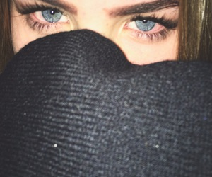 blue, eyes, and joint image