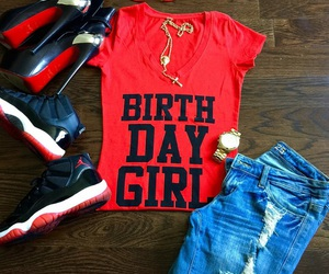 <3, birthday, and clothes image