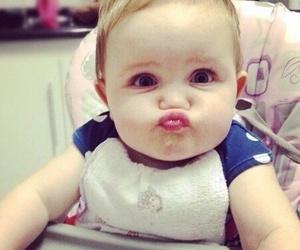 baby and kiss image