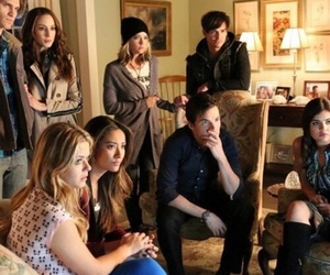 pll, pretty little liars, and haleb image