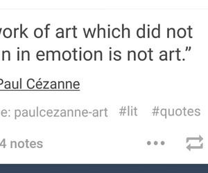 art, emotion, and not image