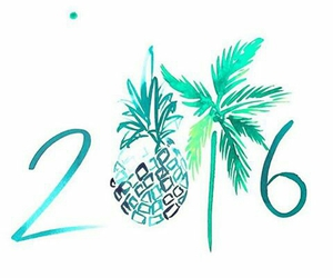 2016, mint, and new year image