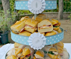 party foods and baby shower ideas image