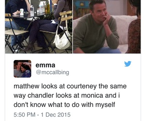 bff, chandler, and couple image