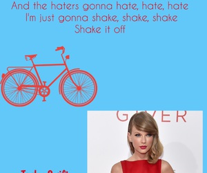 music, shake it off, and Taylor Swift image