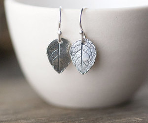 botanical, etsy, and sterling silver image
