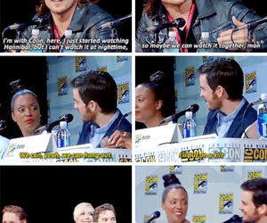 bromance, captain, and comic con image