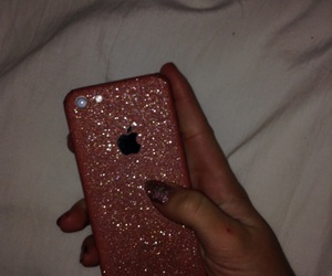 glitter, iphone, and lol image